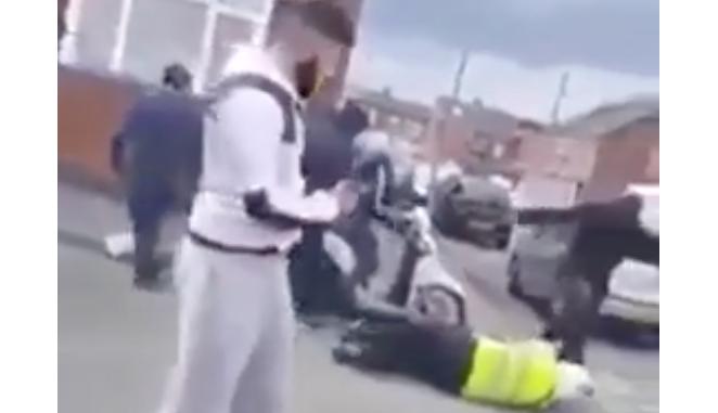 Birmingham attack police