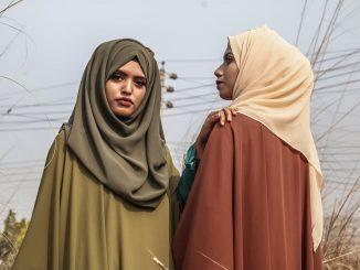 piger med slør