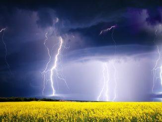 storm lyn torden vejret