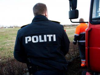 politi lastbil