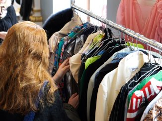tøj mode gardarobe
