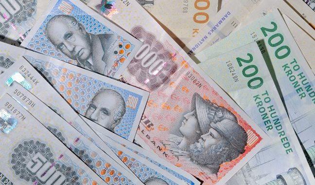 penge sedper kroner