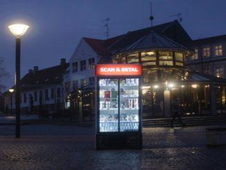 Danmark by nat gade