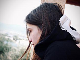 pige trist ked ung